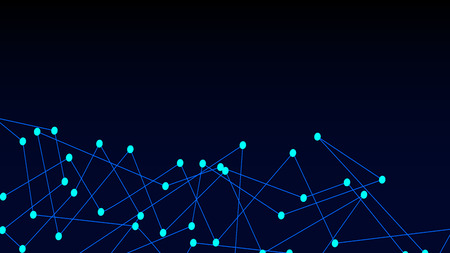 Abstract connection dots. Digital illustration backdrop. Network connection Иллюстрация