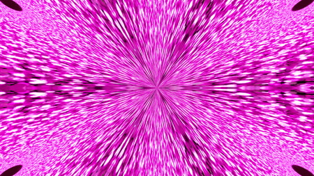 Abstract background with violete kaleidoscope. 3d rendering Фото со стока
