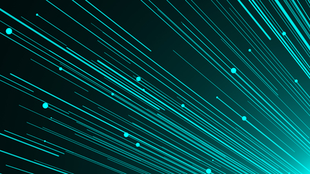 Abstract background with optical fiber. 3d rendering