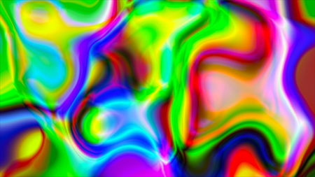 Abstract psychedelic background. 3d render computer graphics Фото со стока