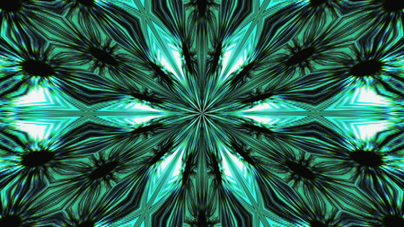 Abstract symmetry beautiful kaleidoscope, 3d rendering backdrop, computer generating