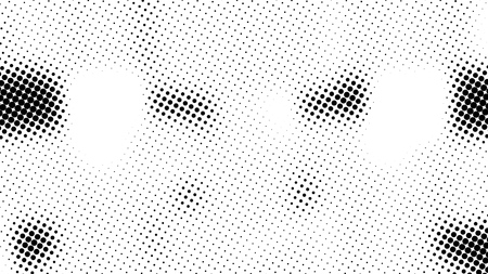 Half tone of many dots, computer generated abstract background, 3D rendering simple backdrop with optical illusion effect