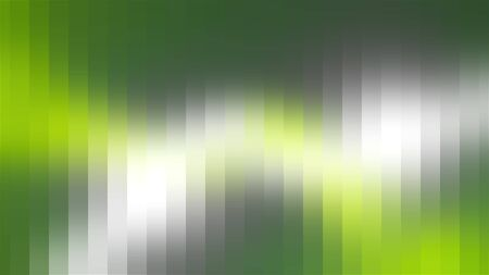 Computer generated colored corrugated surface with bright light shadows. 3d render abstract backdrop of colorful beams