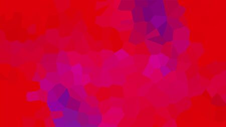 Multicolor flicker mosaic of various shapes, 3d rendering. Computer generated abstract blink background.