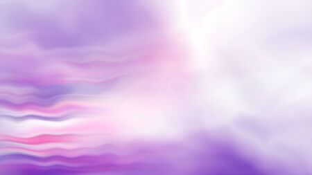 Modern and bright purple sunset abstraction, 3d rendering, computer generated backdrop with curves and lines Imagens