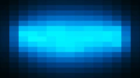Abstract background with mosaic. Digital backdrop. 3d render