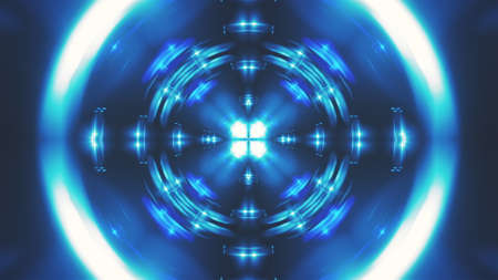 Abstract fractal light background. Digital 3d rendering backdrop. Stock fotó - 154983685