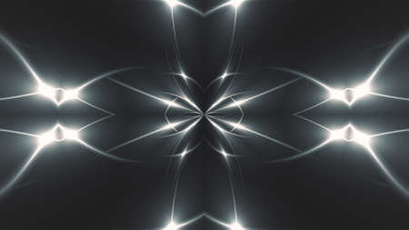 Abstract fractal light background. Digital 3d rendering backdrop. Stock fotó - 154984212