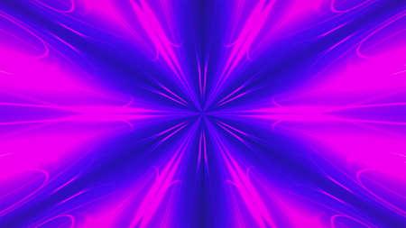 Abstract fractal light background. Digital 3d rendering backdrop. Stock fotó