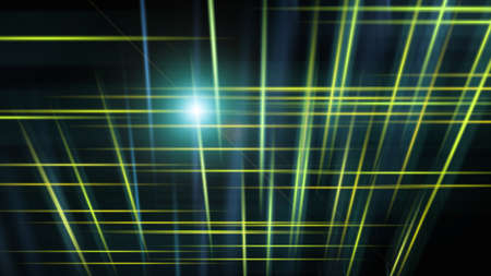 Abstract background with lines in the dark space, 3d rendering computer generated background Stock fotó - 154825909