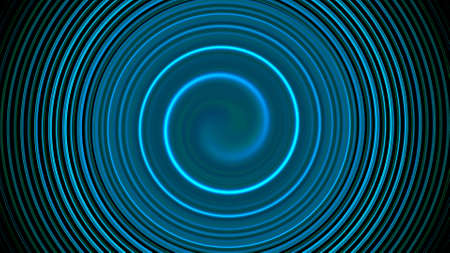 Abstract twirl spin lines, computer generated background, 3D rendering background Stock fotó - 155051343