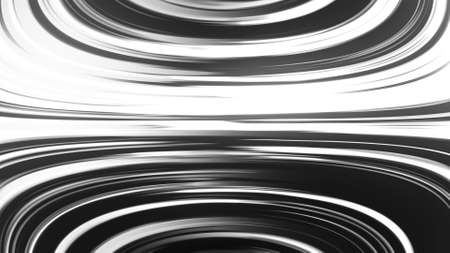 Many fast lines, 3D rendering. Computer generated abstract background.