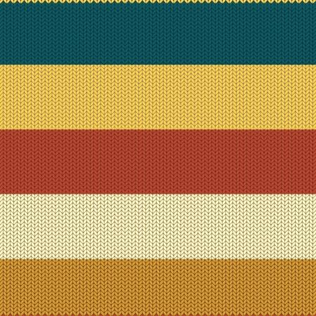 knitted background: Fondo rayado coloreado tejido