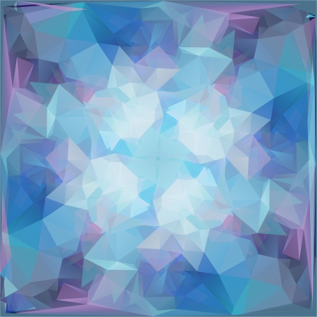 Abstract Geometric Background with Triangular Polygons Stock Vector - 23052223