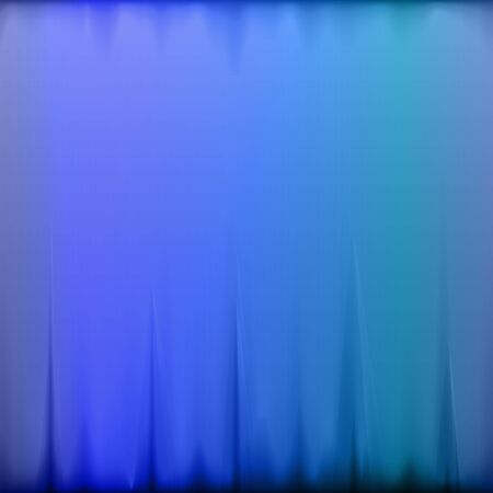 The Blue Colored Textile Background with Folds