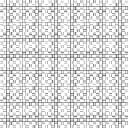 Squared Monochromatic Seamless Vector Textile Pattern with Swatch
