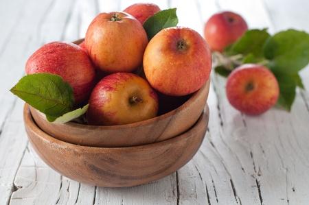 Fresh sweet apple on the table Stock Photo - 15313102