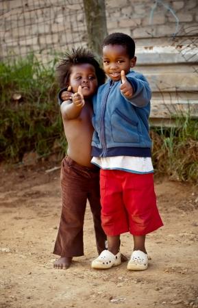 kiddies: Two small kiddies …hey hey, everything is ok.