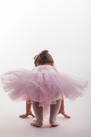 ballet tutu: As small is going up on the toes.