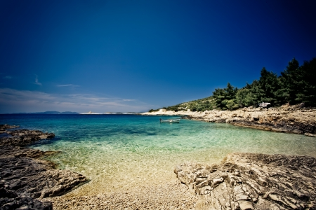 These silver cyan waters are situated in the beautiful ruins of Croatia.