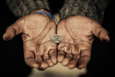 poverty: Food for a hungry man s soul