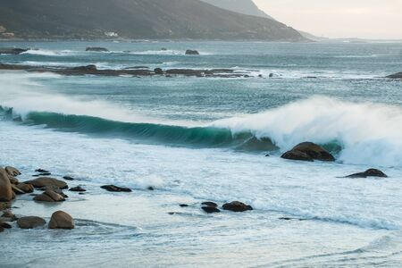 The cyan almost transparent water of Cape Town. Stock Photo - 15405971