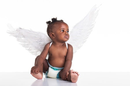 angeles bebe: Angel �frica