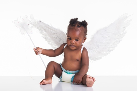 baby angel: African fairy