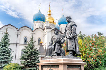 The Monument to Kazan Kremlin Builders
