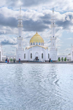The White mosque in Bulgar Tatarstan