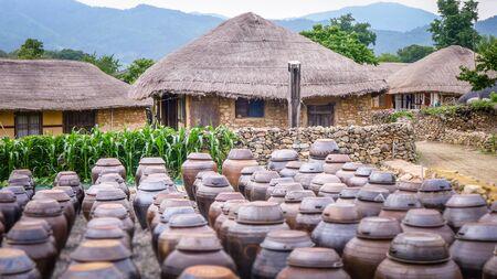 The Nagan Eupseong folk village