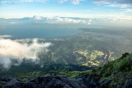 Hiking on the Mayon Volcano