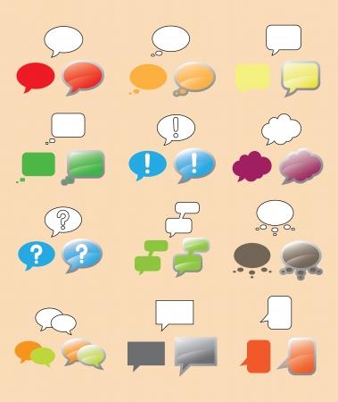 comix: Text Bubbles Set