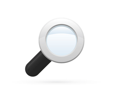 magnifier glass: Magnifier Glass Detailed Icon