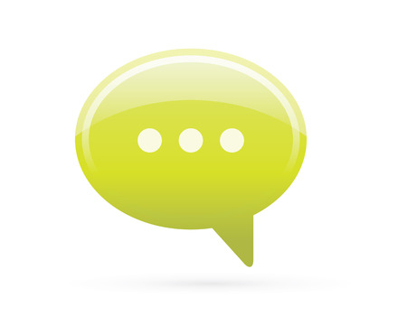 Speech Bubble Chat Detailed Icon