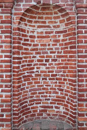 niche: Old Red Brick Wall Niche