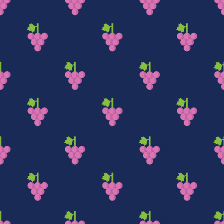 backgrounds texture: Seamless Sweet Grape Pattern Background Illustration