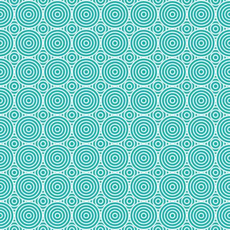 patron de circulos: Seamless Geometric Circles Pattern Background