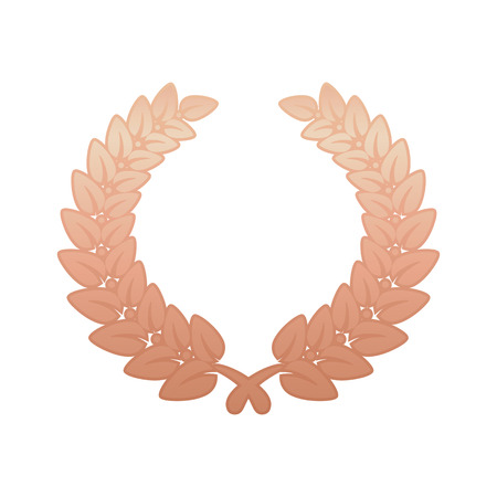 laurel leaf: Anniversary Bronze Laurel Leaf Wreath