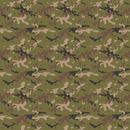 hid: Camouflage Uniform Multi Seamless Tile Pattern Background Illustration