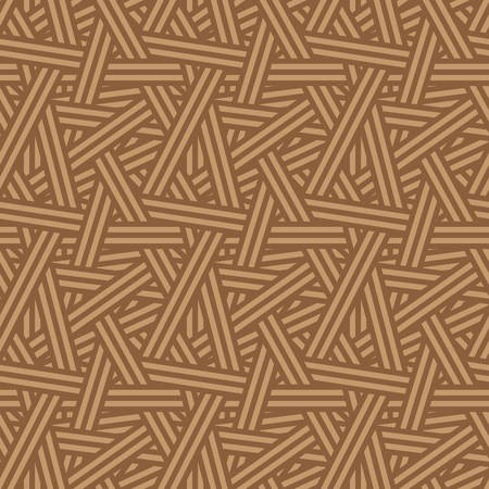 interweaving: Seamless Interweaving Lines Nature Pattern Vector Background Tile