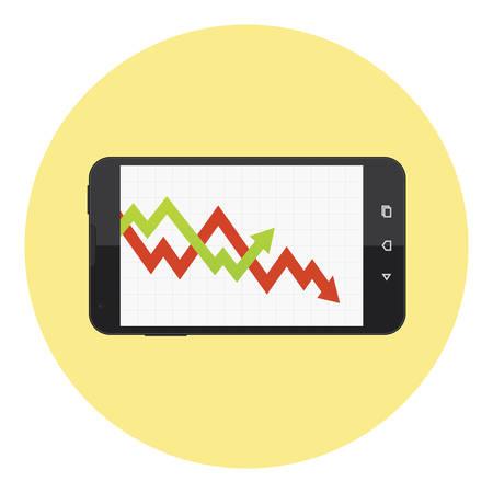 stock chart: Mobile Stock Market Online Chart