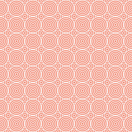 circles: Seamless Geometric Abstract Circles Pattern Background Illustration