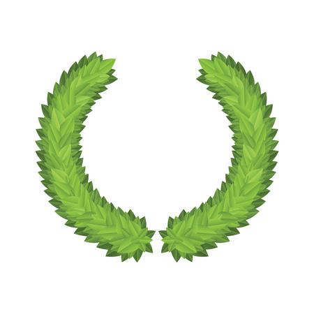 laurel leaf: Laurel Leaf Tree Green Wreath Winner Award