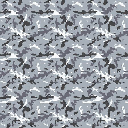 camoflage: Seamless City Military Camouflage Tileable Pattern Background Illustration