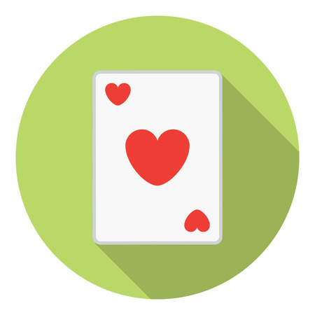 lesure: Lesure Games Playing Card Heart Suit Symbol
