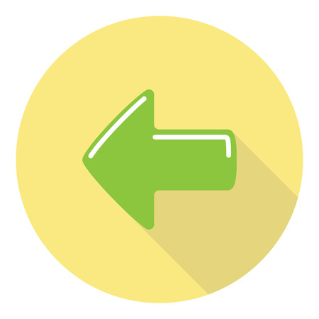 previous: Previous Option Selection Interface Arrow Flat Symbol Illustration