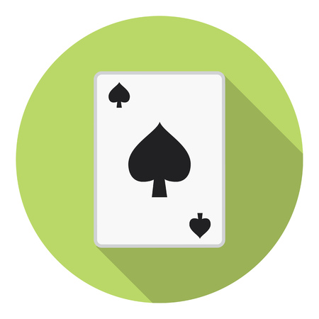 Lesure Games Playing Card Spades Suit Symbol