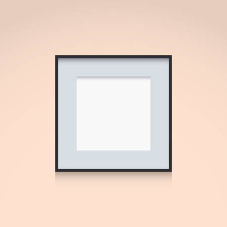 square shape: Frame Interior Decoration Template Square Shape
