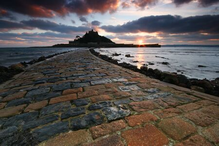 The Causeway to St Michaels mount photo